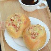 肉松火腿芝士面包的做法