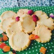 香酥甜味小饼干的做法