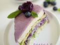 紫薯沙拉蛋糕的做法
