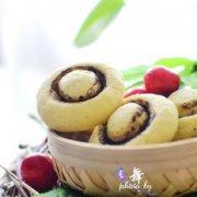蘑菇童趣饼干的做法