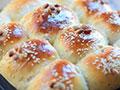 有料的拉丝面包的做法