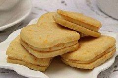 橙味乳酪夹心饼干的家常做法