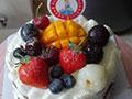 水果祼蛋糕的做法