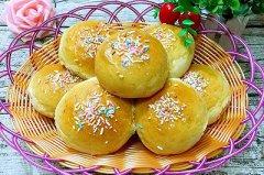 香甜软面包的做法