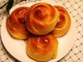 玫瑰花型面包的做法
