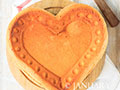 心形原味戚风蛋糕的做法
