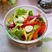 彩椒沙拉的做法