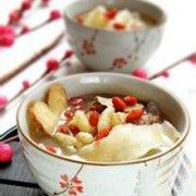 黄芪枸杞猪肝汤的做法