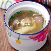 合欢皮佛手猪肝汤的做法