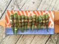 黑胡椒烤秋葵的做法